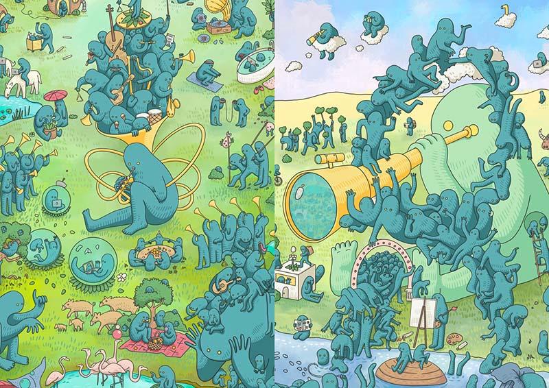 Triptychon (part)